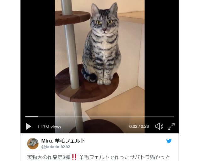 The star of this amazing cat video from Japan isn't actually a cat!【Video】