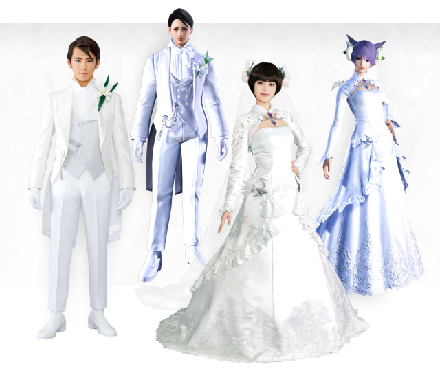 Real-world Final Fantasy wedding plan reservations start in Japan, and it looks amazing【Photos】