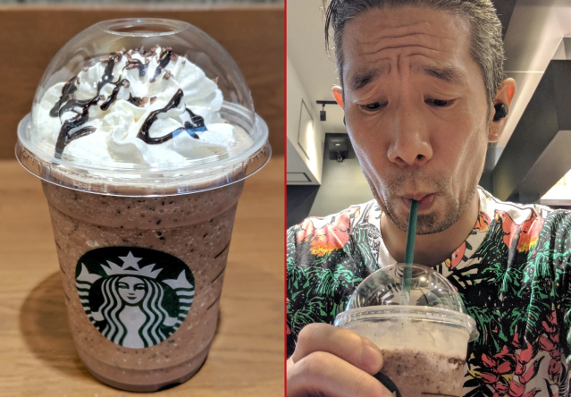 Starbucks' Tokyo-only Minty Chocolate Tea Frappuccino deliciously disappoints our taste tester