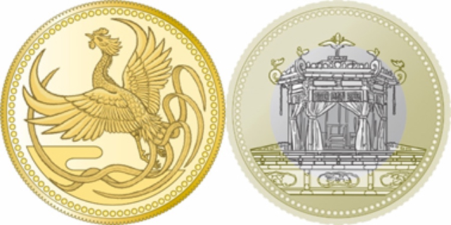 Japan issuing beautiful new coins to celebrate Emperor Naruhito's enthronement