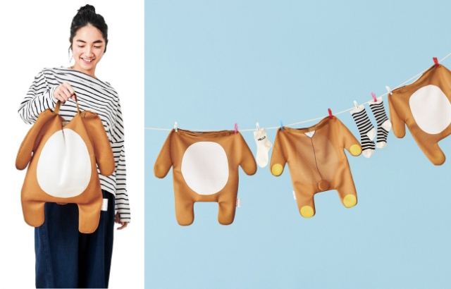 Rilakkuma washing bags may be the cutest laundry invention ever!