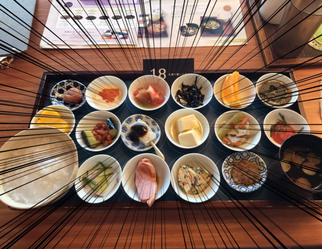 This Tokyo temple offers breakfast that's beautiful, delicious, and includes message of salvation