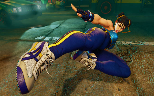 Sneaker company Onitsuka Tiger teams up with Street Fighter to bring us Chun-Li-themed footwear