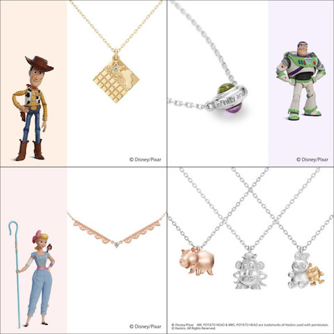 Adorn yourself with Pixar magic with stunning Toy Story themed jewelry from Japan