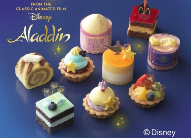 Ginza Cozy Corner offers sweet magic in the form of beautiful Aladdin-themed cakes