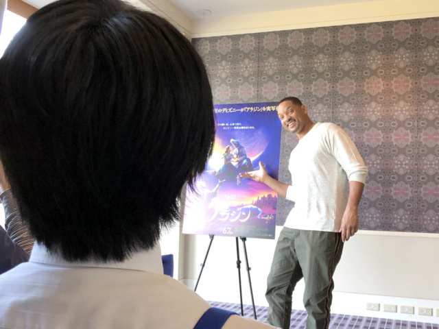 Japanese Disney fanatic impresses Will Smith with just one interview question
