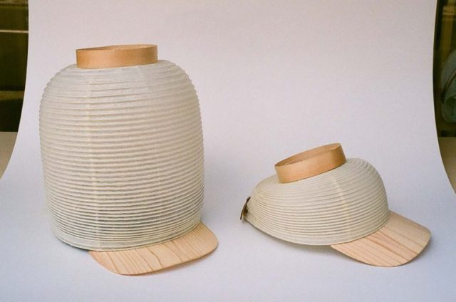 Wear a Japanese lantern on your head with the new Chochin Cap from Kyoto