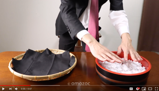Japanese office worker gets fired, retaliates by making sushi out of business suit and iPhone