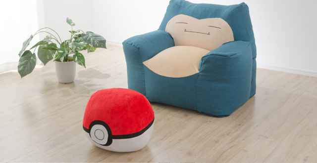 Snorlax Bead Sofa is the awesomely cozy living room furniture every Pokémon fan needs【Photos】