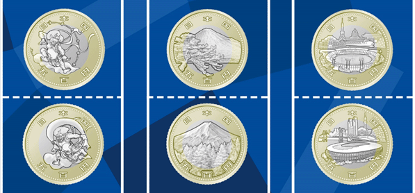 Japan unveils beautiful new yen coins for Tokyo Olympics, needs your help picking the best design