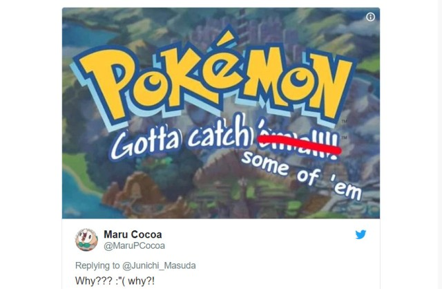 Pokémon fans around the world distraught at the limited number of Pokémon in upcoming games