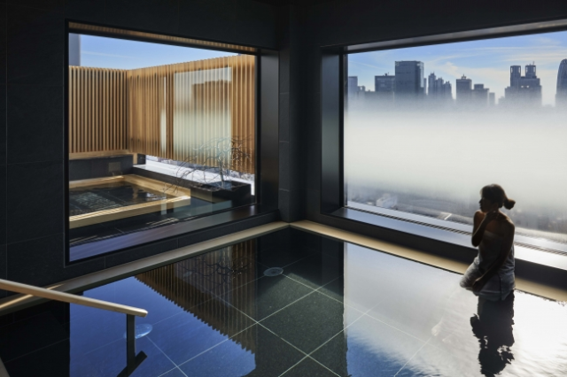 Beautiful new Tokyo hotel gives you the best of both worlds with hot spring bath in the big city