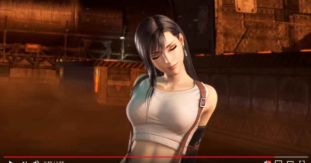 Final fantasy 15 big boobs lady They Will Bounce Promises Final Fantasy Director As Tifa Joins Fighting Game Cast Soranews24 Japan News