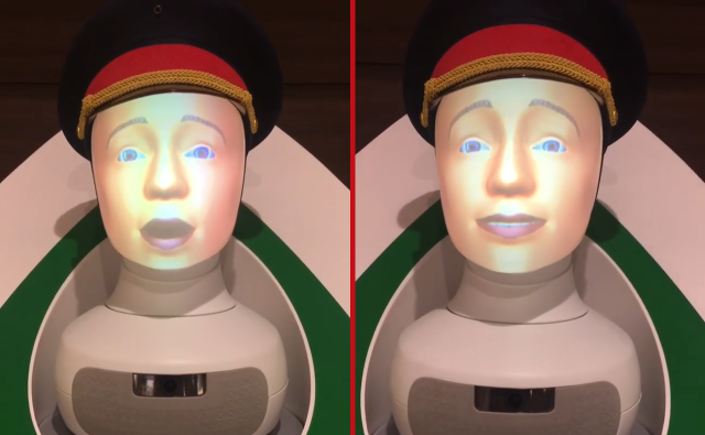 Tokyo Station's new guidance robot is extremely terrifying, pretty helpful【Video】