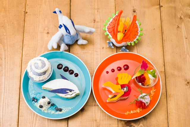 Ho-Oh and Lugia desserts to descend on the Pokémon Cafe in Tokyo