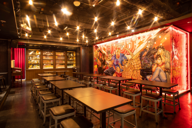 Shonen Jump opens special bar for adults to raise a toast to their childhood action heroes