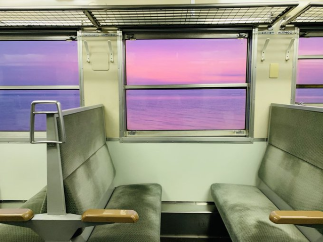 Do not adjust your monitor – The view from Japan's Gono train line really is this beautiful【Pics】