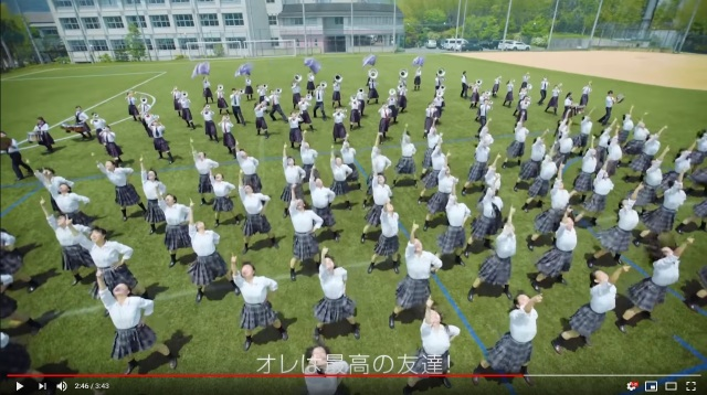 Japanese high school students dancing to Aladdin song is greatest thing since blue genies【Video】