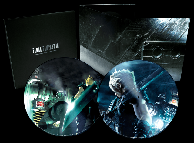 Final Fantasy VII ditches CDs and goes vinyl for two-record music collection