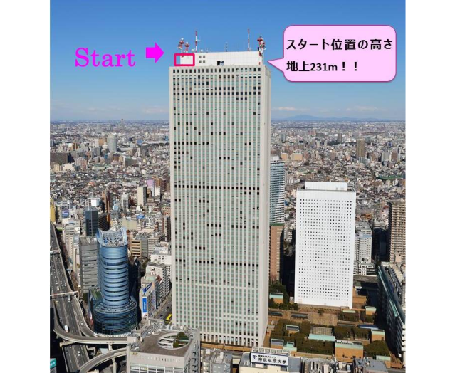 Like heights? 231-meter (758-foot) skyscraper in Tokyo opens a zipline course on its roof