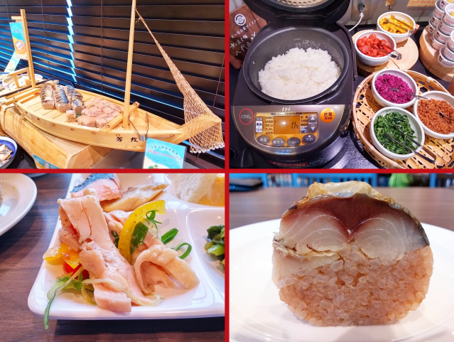Kyoto breakfast buffet with all-you-can-eat sushi: One of the best possible ways to start a day