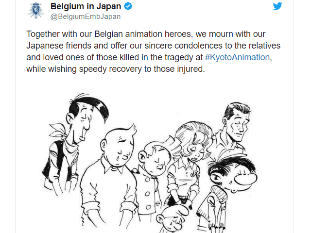 Animation Studios, Fans Share Messages of Hope After Kyoto Animation Studio Arson