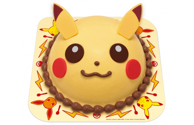 Pokémon ice cream cakes and Pikachu-flavor ice cream on the menu at Baskin-Robbins Japan!