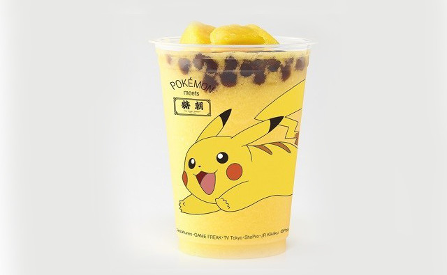 Official Pokémon bubble teas coming to Japan!