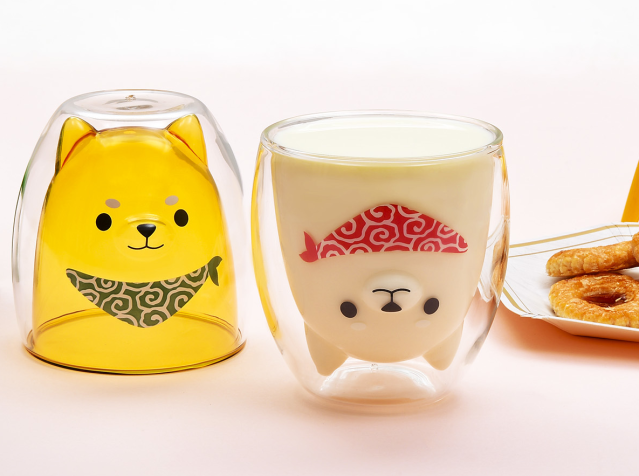 Japan's Shiba Inu 3-D art glasses get an adorable, necessary upgrade in new version【Photos】