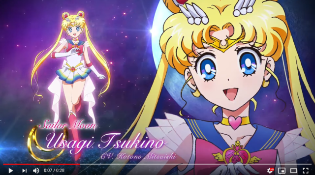 Brand-new Sailor Moon anime movies bring back original '90s anime character designer【Video】