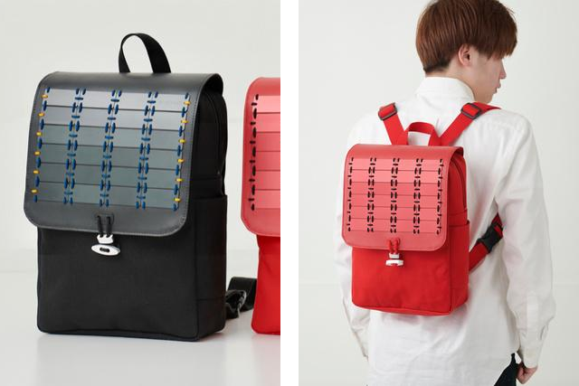 Samurai backpacks from Kyoto combine lamellar tradition, awesome style, and modern functionality