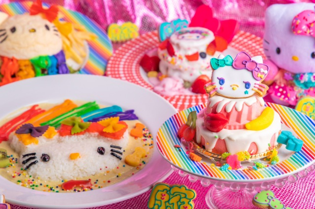 Hello Kitty and Kawaii Monster Cafe Harajuku team up for possibly cutest, tastiest collab ever