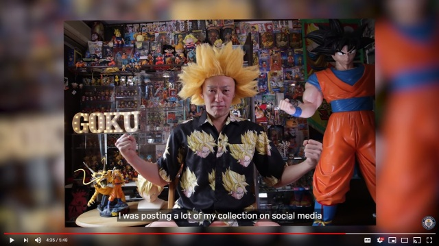 Dedicated Dragon Ball fan breaks Guinness World Record, amasses over 10,000 collectibles【Video】