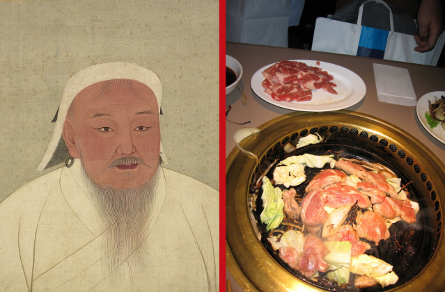 """Mongolian professor says Japan's name for Mongolian barbecue, """"Genghis Khan,"""" is disrespectful"""