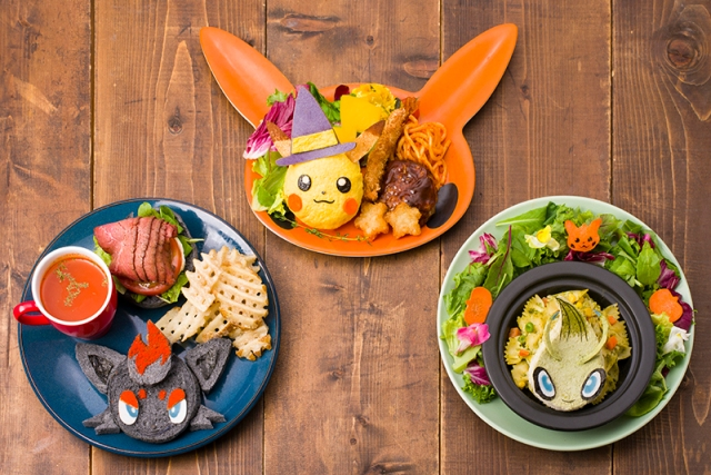 Pokémon Cafe gears up for the spooky season by offering three new adorable Halloween dishes