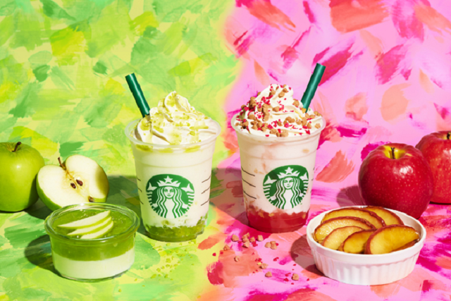 Starbucks Japan adds two different mouth-watering apple Frappuccinos for fall