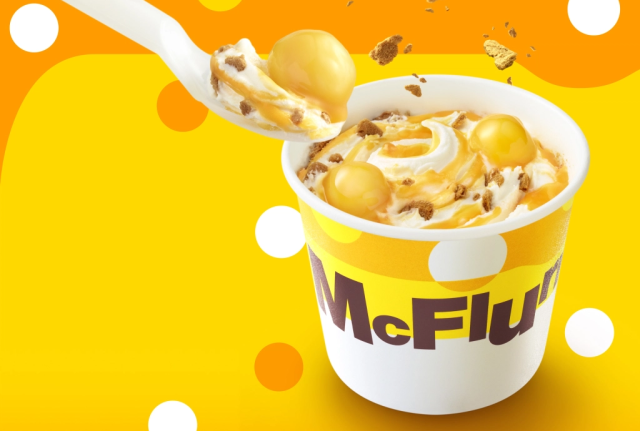 McDonald's new mochi shiratama McFlurry's name is a mouthful, but our taste buds want it anyway