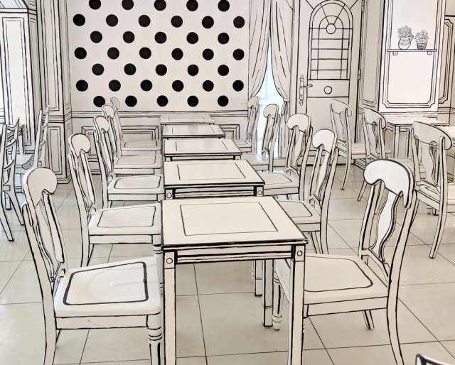 Tokyo's amazing 2D Cafe looks like an illustration, but it's an actual restaurant you can eat in!