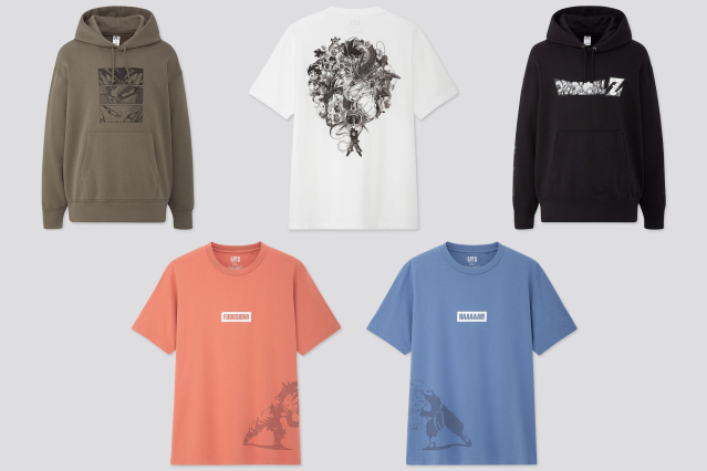 Uniqlo announces new line of awesome Dragon Ball T-shirts and hoodies【Photos】
