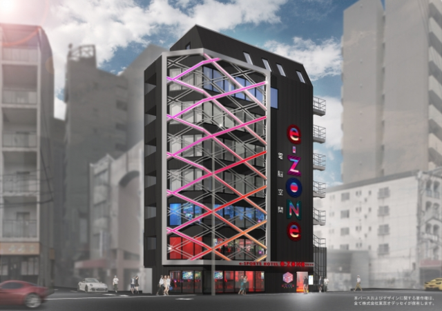 Japan's first dedicated e-sports hotel to open this spring with three full floors of gaming gear