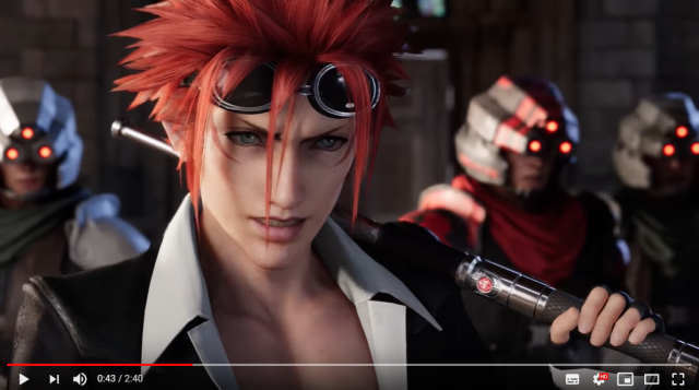 New Final Fantasy VII Remake trailer shows off biggest scene stealer, brothel owner【Video】