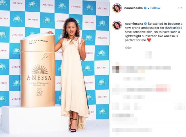 "Naomi Osaka hits back at Japanese comedians' ""too sunburned"" comment"