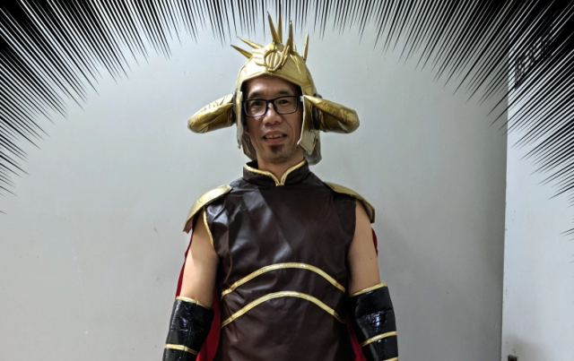Cosplay tragedy strikes Mr. Sato with the official Fist of the North Star Raoh cosplay set【Pics】