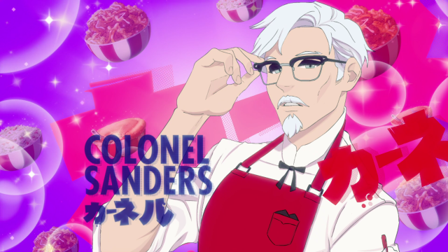 KFC's dating sim cooks up fingerlickin' Colonel Sanders romance, but the recipe feels off【Review】