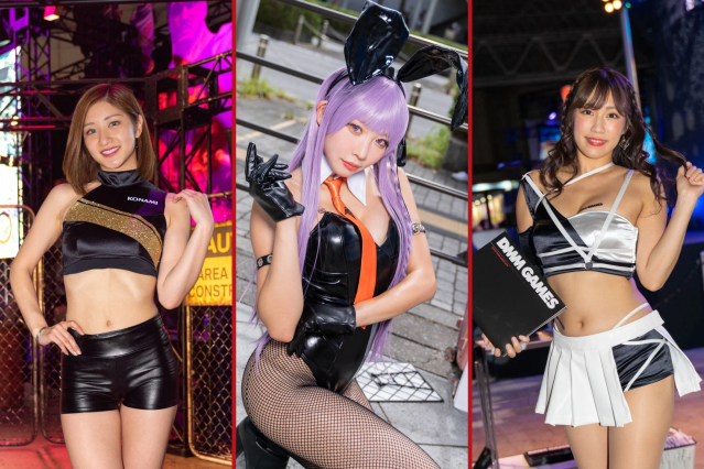 The beautiful cosplayers, models, and booth displays of Day 2 of Tokyo Game Show