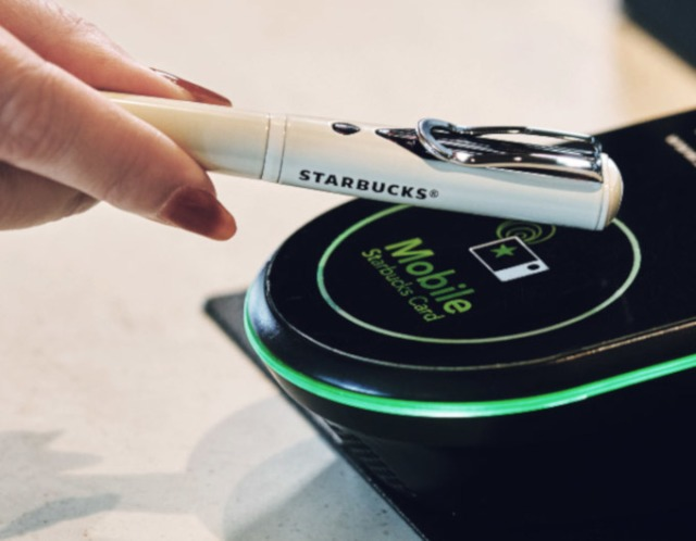 Starbucks Japan releases special pen that you can also use to buy coffee