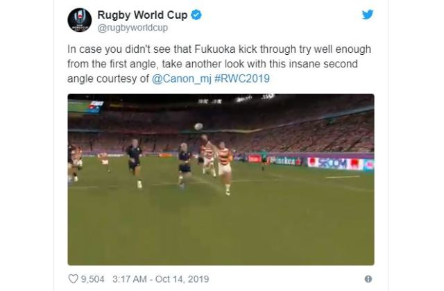 Canon shows off video-game-like replay tech for real games of Rugby World Cup in Japan
