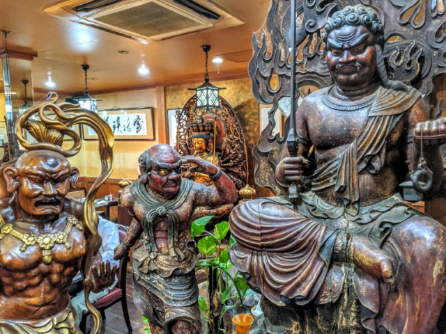This amazing Buddhist statue cafe in Japan could be a museum all by itself【Photos】