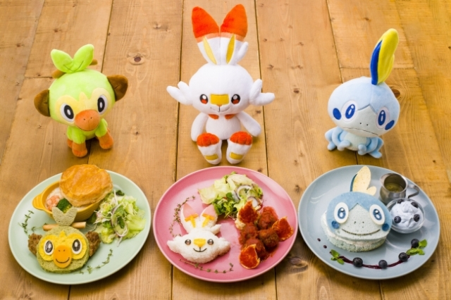 Pokémon Cafe releases limited-time Pokémon Starter menu ahead of Sword and Shield release