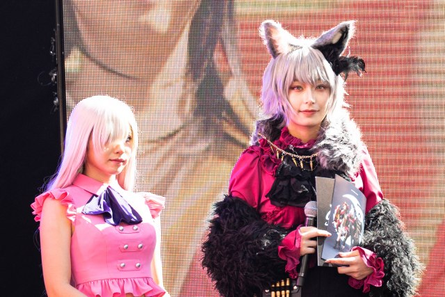 Japan's number one cosplayer Enako wows crowds at Halloween event in Tokyo
